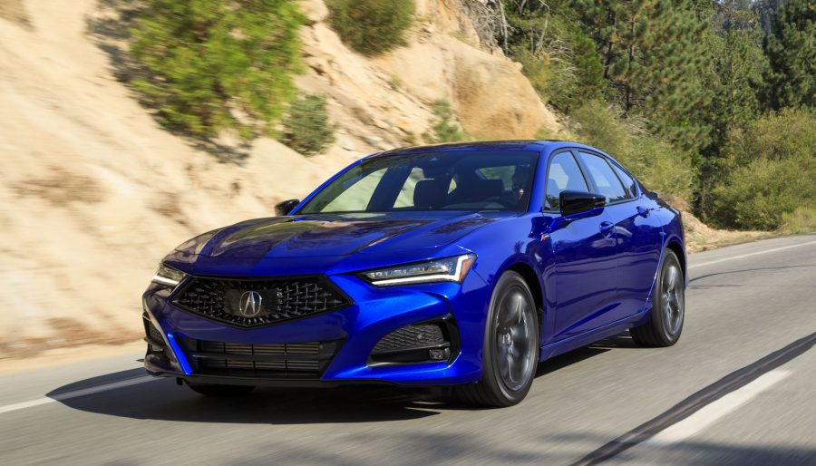 Charged sedan Acura TLX Type S 2021