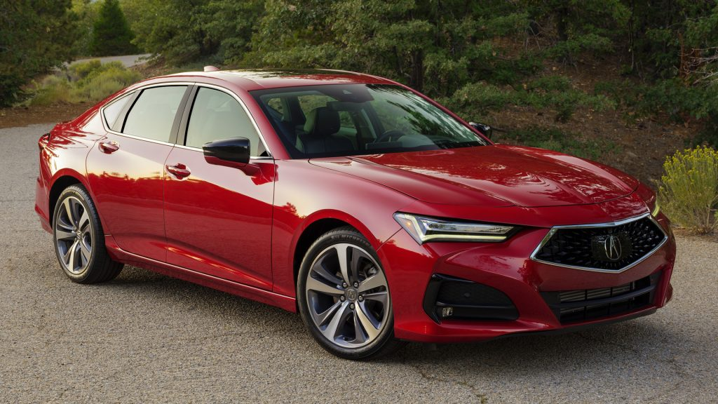 Acura TLX 2021 Performance Red Pearl
